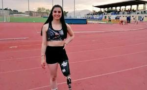 La berciana Marta Casado, doble campeona de España de atletismo adaptado