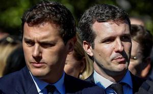 Rivera ofrece a Casado un gobierno de coalición
