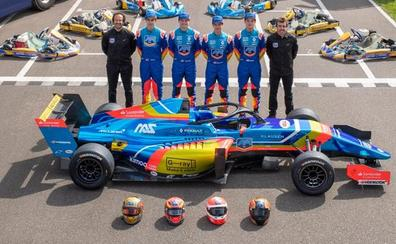 Vidales cambia el kart por el 'Fórmula' de la mano de Fernando Alonso
