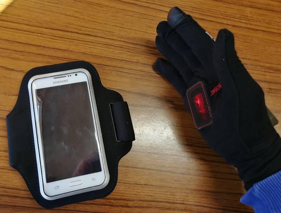El guante inteligente del Centro de FP de La Robla