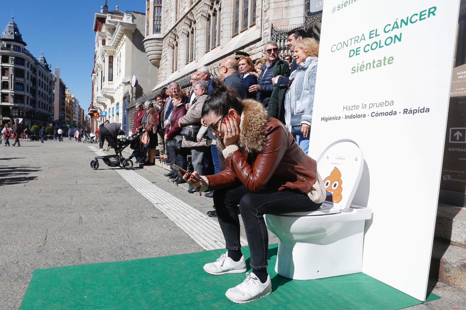 Contra el cáncer de colon, siéntate