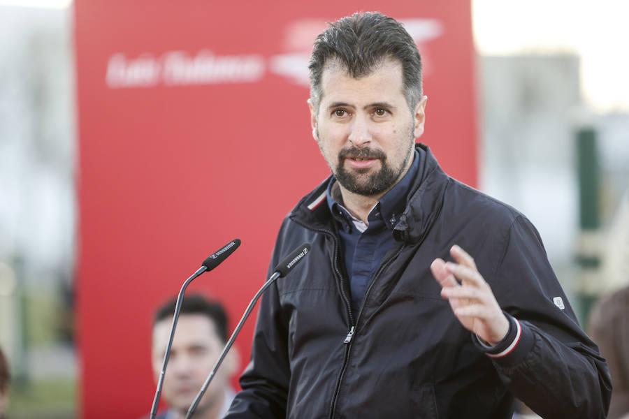 Presentación de la candidatura de Jorge Pérez como líder del PSOE en Villaquilambre