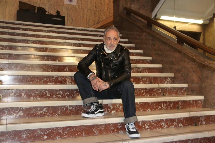 Alberto García-Alix imparte una clase magistral en León