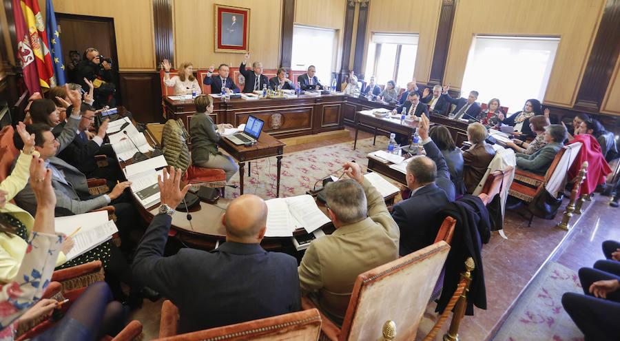 Pleno Ordinario en el Ayuntamiento de León