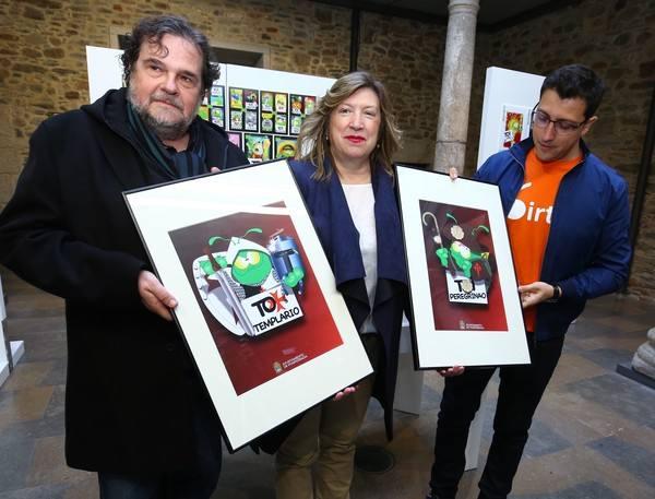 Ponferrada lanza la exposición '30 años de los 'Toi'