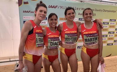 Blanca Fernández, segunda mejor española en el Mundial de Cross