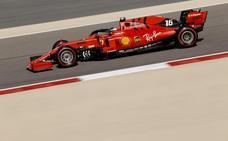 Vettel tiene un problema: Charles Leclerc