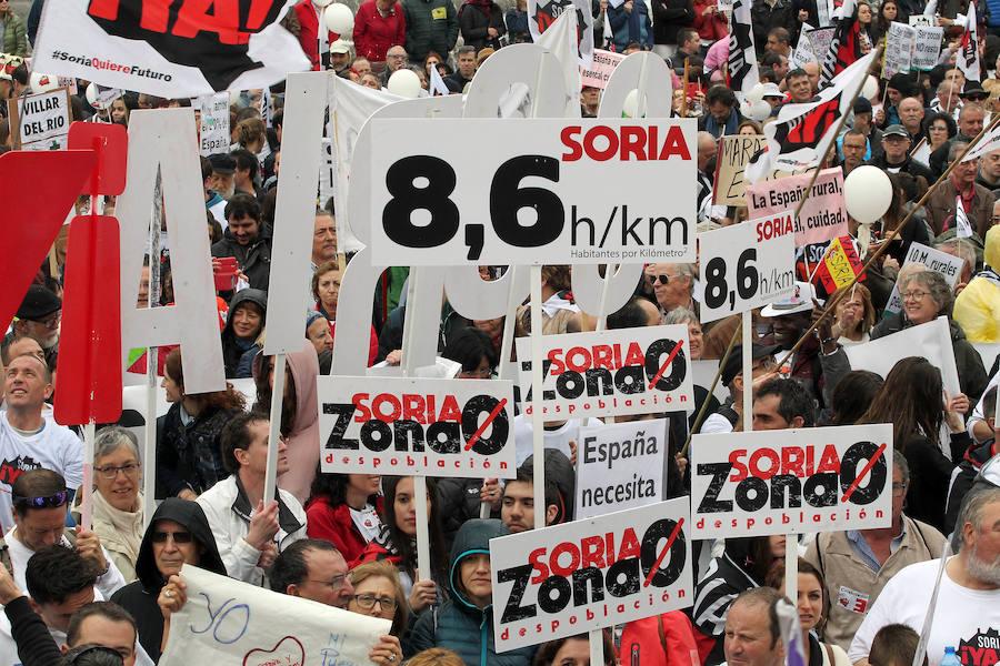 'La revuelta de la España vaciada' llega a Madrid