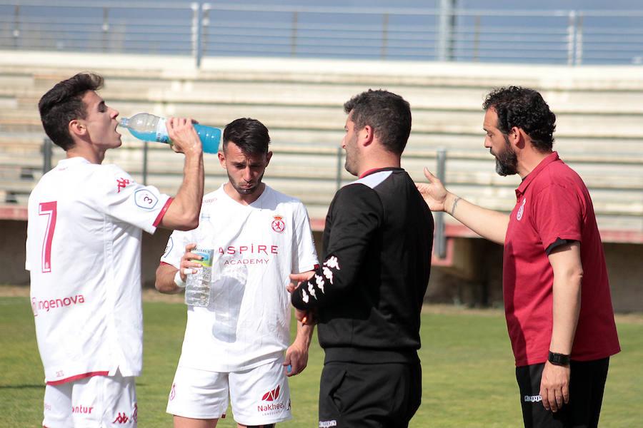 Victoria del Júpiter ante el Sporting Uxama (5-0)