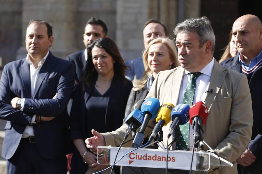 Ciudadanos presenta a sus candidatos al Congreso y al Senado por León