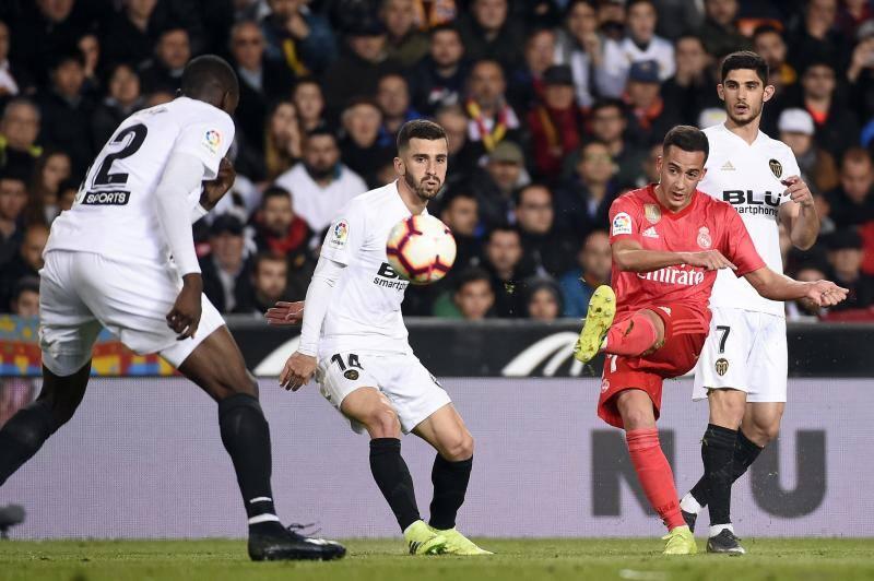 Las mejores imágenes del Valencia-Real Madrid