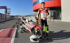Héctor Yebra, con optimismo y expectativas en el Campeonato de España de Superbikes