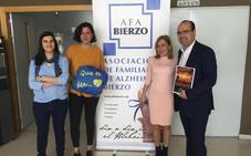 El candidato del PP a la Alcaldía de Ponferrada compromete la «colaboración activa» del Ayuntamiento en su visita a la sede de AFA Bierzo
