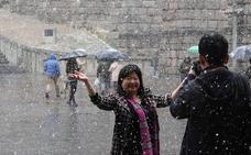 Solo la provincia de Valladolid se librará de la nieve este fin de semana en Castilla y León