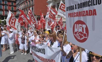 Los trabajadores de León salieron a la calle en 24 ocasiones, con una subida del 60%