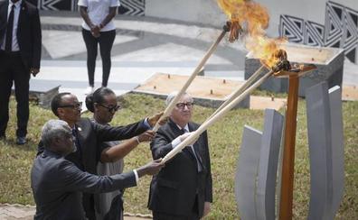 Ruanda, como «una familia», mira al futuro 25 años después del genocidio