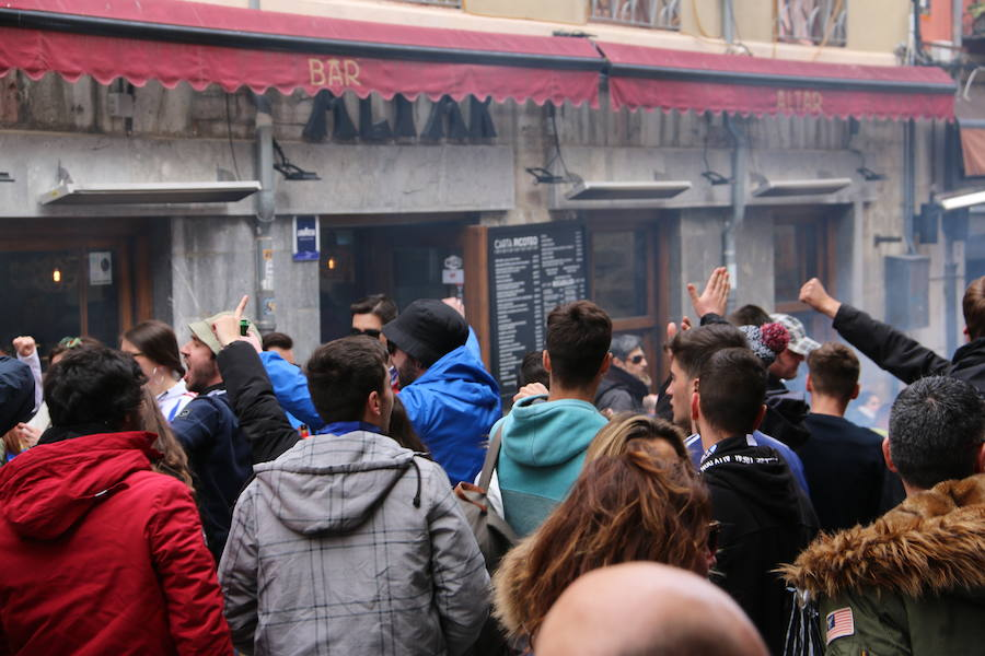 Ambiente previo en las calles de León