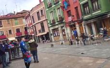 Cultural y Ponferradina condenan el enfrentamiento entre aficionados en el centro de León