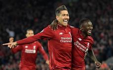El Liverpool, muy superior al Oporto, pone pie y medio en semifinales