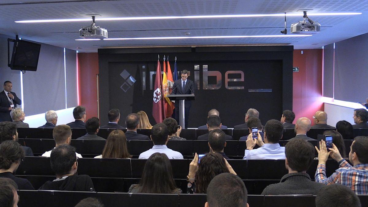 Pedro Sánchez visita el Incibe de León