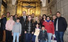 Las Siete Palabras colabora en la restauración del Retablo Mayor de la Iglesia de San Marcelo