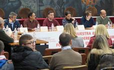 Los acuerdos de La Robla: crear una plataforma, pedir el apoyo de instituciones y entrar en los planes de la Junta