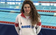 Sara Rodríguez, en las semifinales del Campeonato de España de Natación