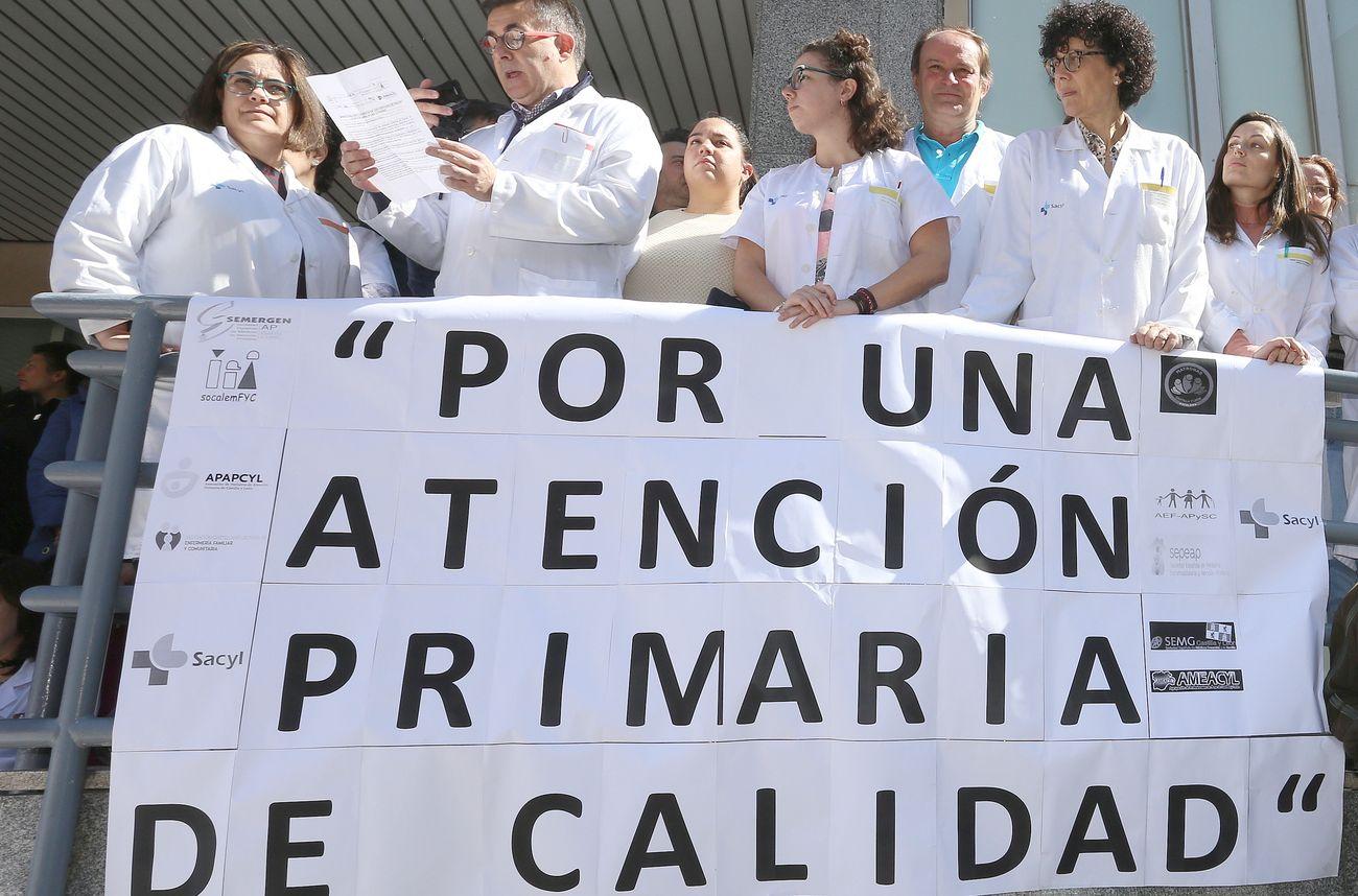 Médicos de familia, pediatras, enfermeros, fisioterapeutas y profesionales de área exigen apoyo a la Atención Primaria