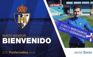 Javier Zarzo se incorpora a la SD Ponferradina