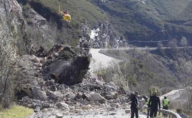 El Gobierno destina un millón de emergencia para la reparación del tramo de la N-625 que sufrió un argayo en Oseja de Sajambre