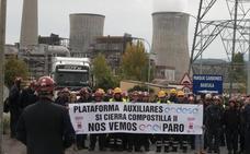 La Junta pedirá una reunión al secretario del Estado de Energía para tratar la situación de los auxiliares de Compostilla