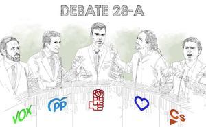 Un solo debate para la campaña más incierta