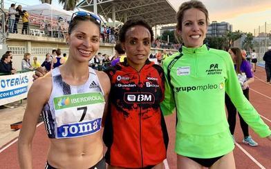 Nuria Lugueros, bronce en el Campeonato de España de 10.000 metros