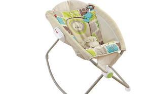 Retiran del mercado casi 5 millones de sillas de bebé de Fisher-Price