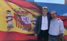 El PP leonés muestra su apoyo a Casado en Valladolid