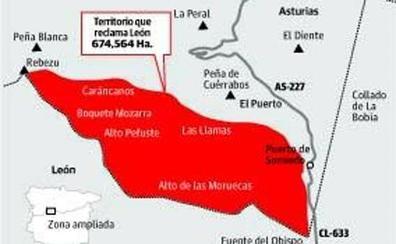 Punto y final al litigio fronterizo entre León y Asturias: el Estado devuelve a Cabrillanes 674 hectáreas de monte