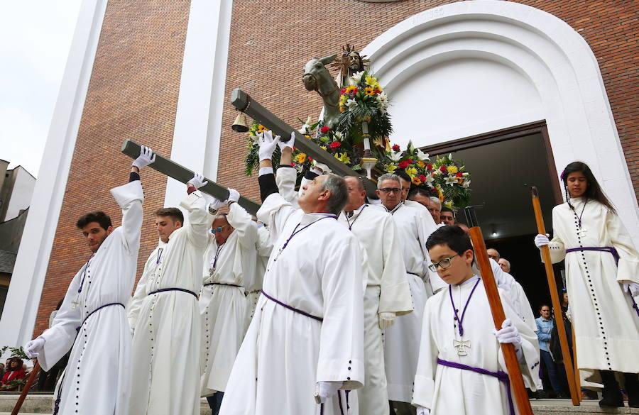 Procesión de Las Palmas del Domingo de Ramos de Ponferrada