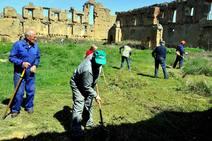 Hacendera de Promonumenta y Mansilla Mayor en el monasterio de Sandoval