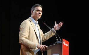 Sánchez se lanza a por los indecisos de centro aupado por el veto de Rivera