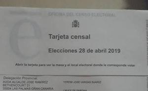 El Censo envía su primera tarjeta a Yéremi Vargas, desaparecido desde 2007