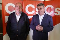 Francisco Igea participa en un encuentro de Ciudadanos en León