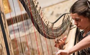 La arpista Noelia Cotuna protagoniza el próximo concierto de la temporada de Juventudes Musicales en Ponferrada