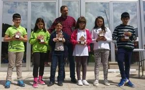Tres leoneses suben al podio en el Campeonato de Castilla y León de Ajedrez sub-10