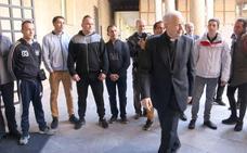 El Santo Cristo del Perdón logra de forma 'exprés' la libertad condicional de un preso