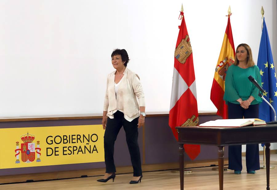 Toma de posesión de Mercedes Martín como nueva delegada del Gobierno