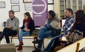 Unidas Podemos destaca en Villablino la importancia de «blindar» las pensiones
