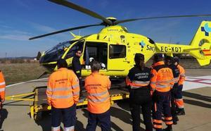 La Agrupación Local de Protección Civil de Astorga recibe un curso para emergencias