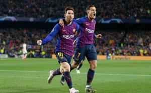 Entre la exhibición de Messi y el gesto de Coutinho a la afición