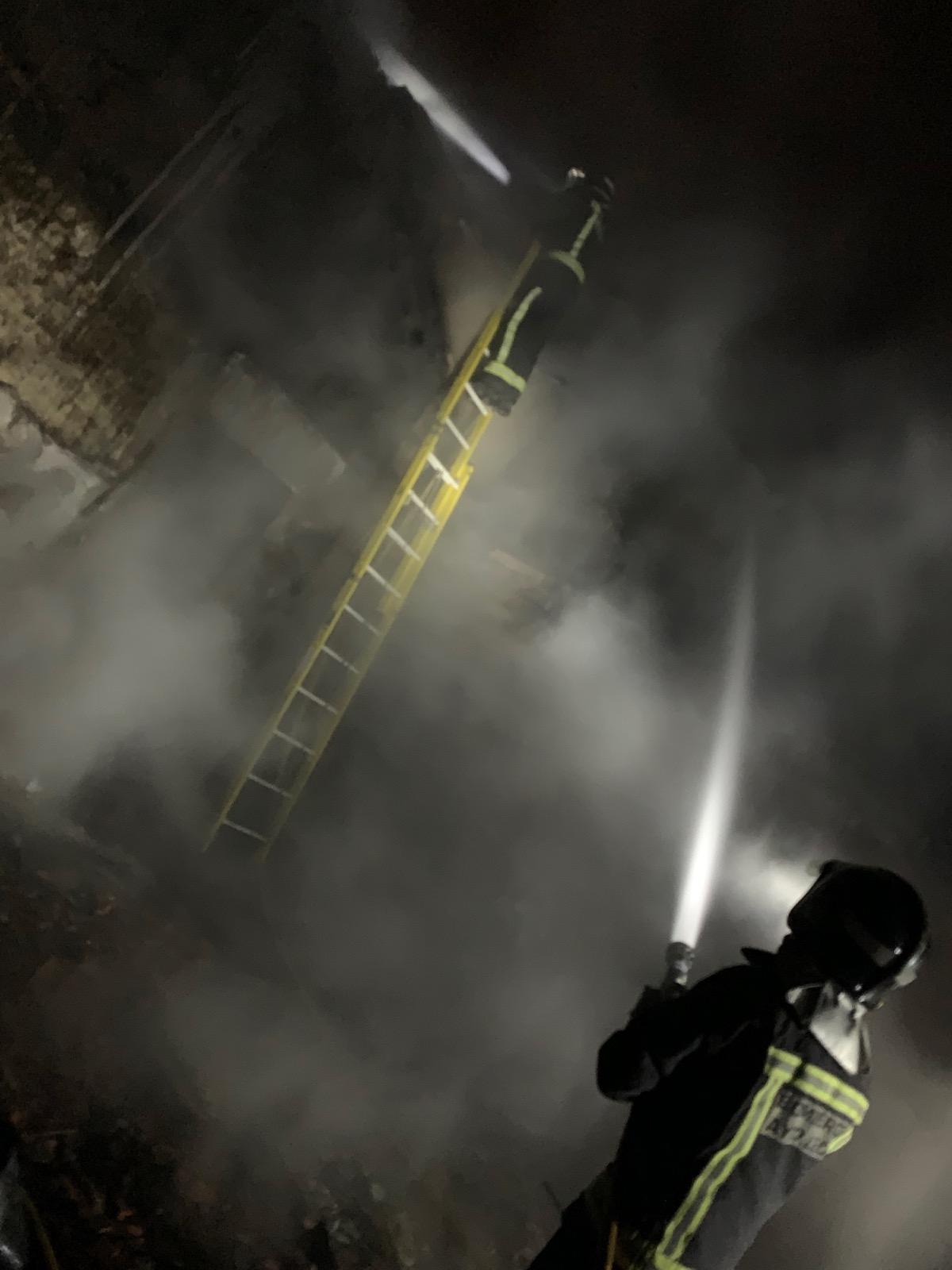 Incendio en Huerga de Garaballes