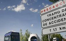 León es la provincia con más puntos negros en carretera de la comunidad autónoma